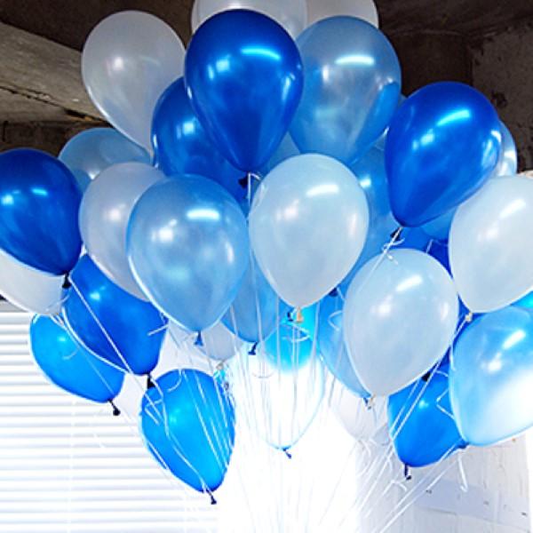 헬륨풍선 블루오션 [차량배달]