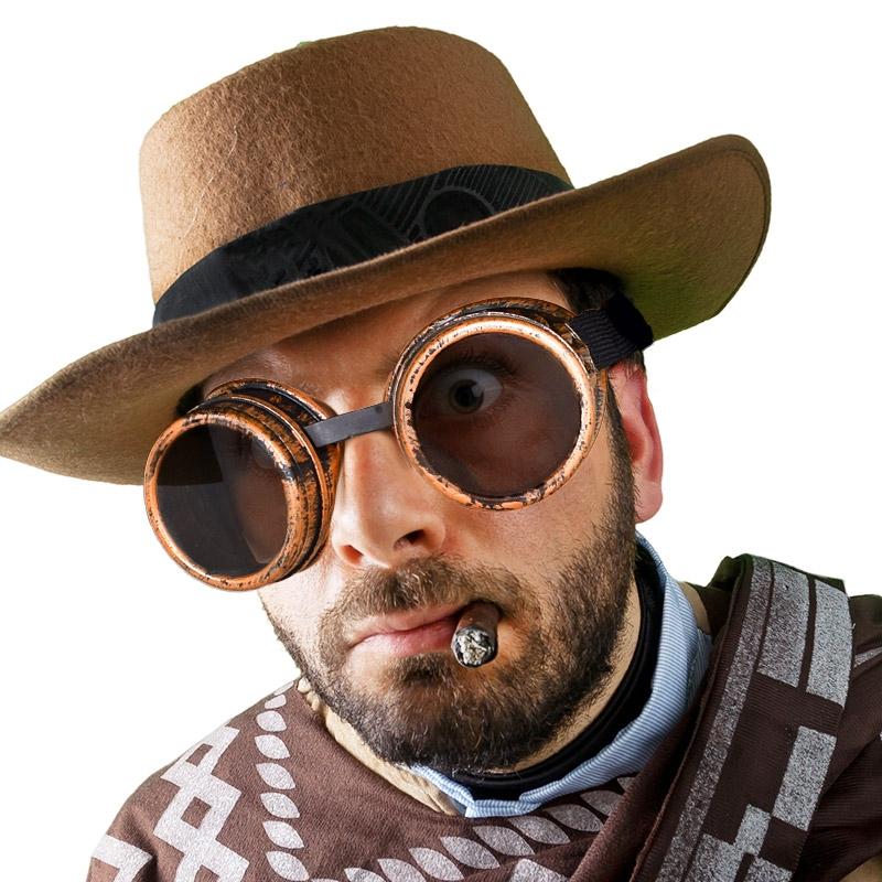 빈티지 파이럿 안경